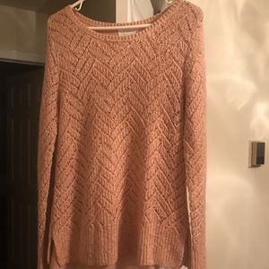 Lucky Brand Rose Gold Sweater